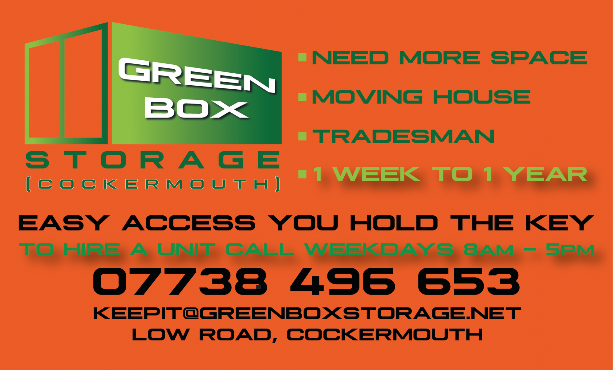 Green Box Storage